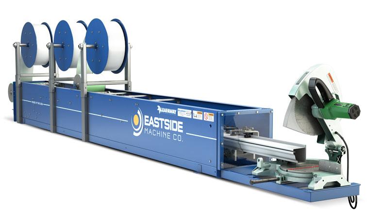 rent gutter machine