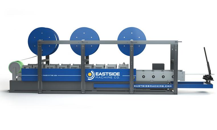 Eastside Machine Company Em 6 8 10 Seamless Siding Machine